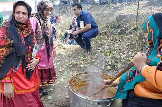 فیلم: کلیپ برگزاری دومین جشنواره هلی ترشی در روستای بالاده