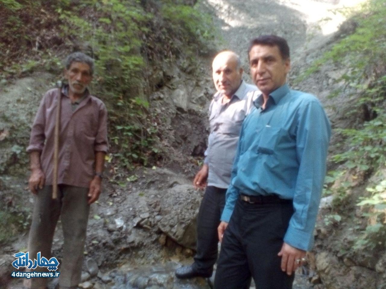 پیگیری حل مشکلات کشاورزان چهاردانگه توسط شورای اسلامی بخش