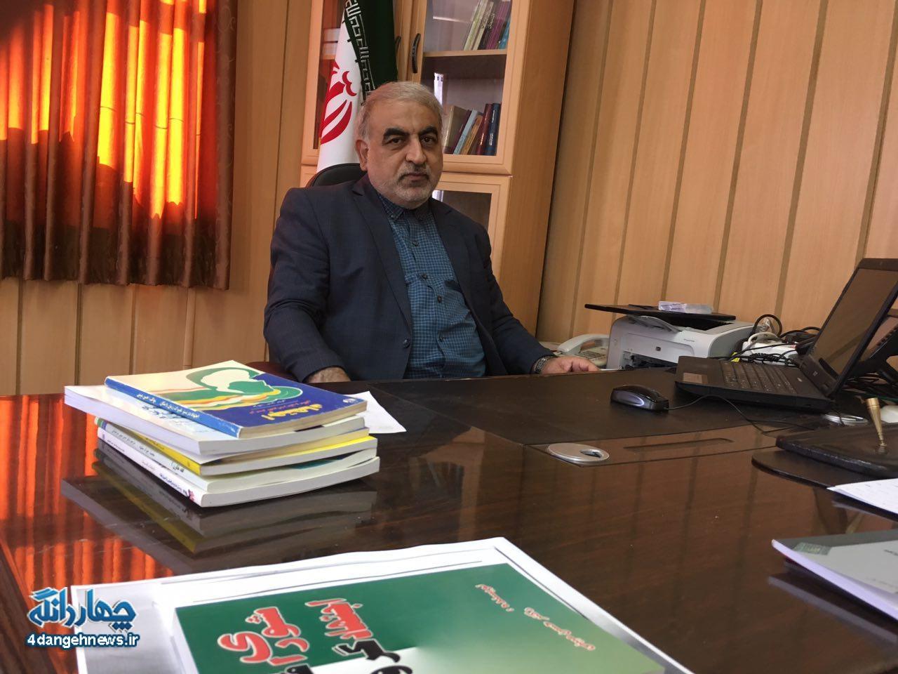 گفتگوی اختصای پایگاه خبری چهاردانگه با رییس دانشگاه پیام نور ساری