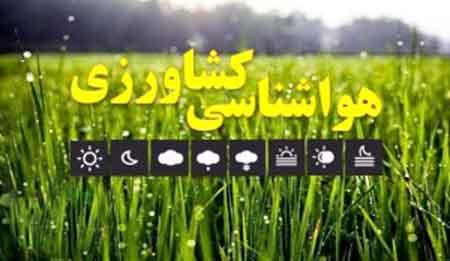 توصیههای هواشناسی کشاورزی برای روزهای پایانی تابستان