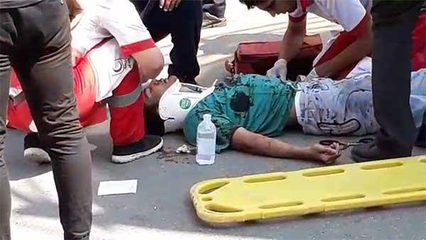 فیلم: نخستین ویدئو منتشر شده از حادثه سقوط تله کابین در رامسر