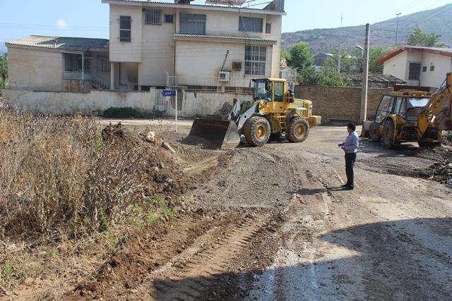 سیل 2 میلیارد و500 میلیون ریال به معابر و تاسیسات شهری کیاسر خسارت وارد کرد