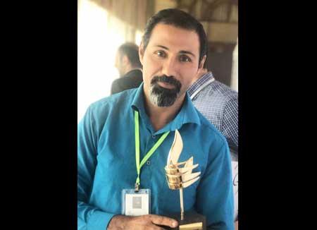 سید ولی شجاعی لنگری رتبه اول جشنواره ملی عکس فوتبال و زندگی را کسب کرد
