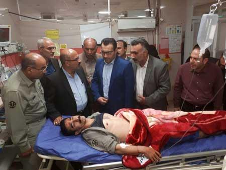 آخرین وضعیت جسمانی محیط بان محمد علی روحی