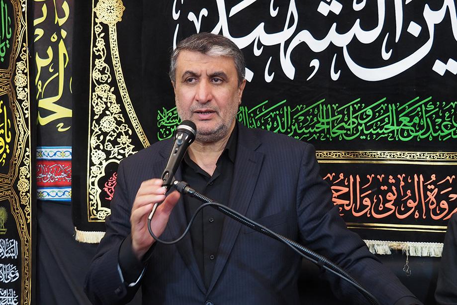 حضور مهندس اسلامی استاندار مازندران در هیئت امام حسن مجتبی (ع) کیاسر در مشهد