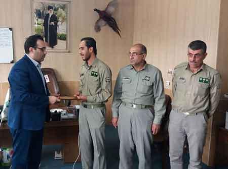 رئیس جدید اداره پارک ملی و پناهگاه حیات وحش کیاسر منصوب شد