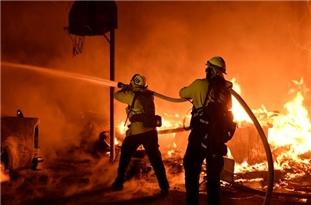 آتشسوزیهای زنجیرهای در کیاسر نگران کننده است/ شائبه عمدی بودن آتشسوزیها