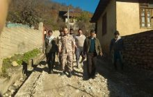 استقرار گروه جهادی حوزه نبی اکرم(ص) در روستای باباکلا + تصویر