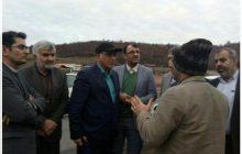 بازدید مدیرکل گردشگری مازندران از جاذبه های گردشگری کیاسر