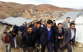 گزارش تصویری بازدید مهندس دامادی از دهستان پشتکوه چهاردانگه