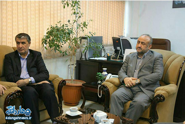 استاندار مازندران با دکتر سید رمضان شجاعی کیاسری دیدار کرد