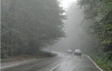 محدودیتهای ترافیکی در محورهای مازندران آغاز شد/محور کیاسر بارانی و لغزنده است