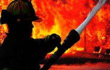 آتش سوزی در چمستان جان یک نفر را گرفت