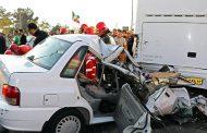 تصادف اتوبوس تیم فوتبال خونهبهخونه بابل با پراید در جاده هراز/مصدومیت شدید راننده پراید
