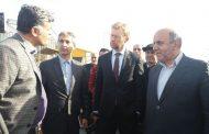 بازدید سفیر نروژ از بندر نوشهر