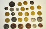 کشف 299 سکه عتیقه متعلق به دوره ساسانی در قائمشهر
