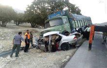 چهار کشته و زخمی در حادثه رانندگی محور آمل به محمودآباد