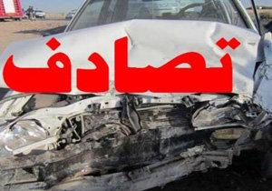 ۳ کشته و زخمی در تصادف جاده کیاسر
