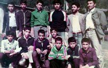 عکس دانش آموزان مدرسه راهنمایی ازنی- اردیبهشت 1364