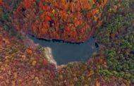 فیلم: تصویربرداری هوایی از چهره هزار رنگ پاییزی دریاچه چورت ( میانشه )