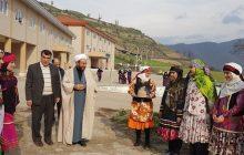 جشنواره بومی محلی در هنرستان شبانه روزی حضرت خدیجه (س) خالخیل برگزار شد