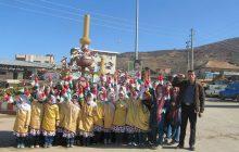حضور باشکوه فرهنگیان و دانش آموزان چهاردانگه در راهپیمایی 22 بهمن 1396