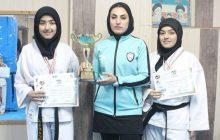 درخشش دو خواهر چهاردانگه ای در مسابقات کاراته  جام باشگاه های کشور