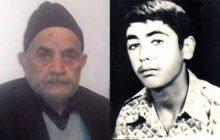 پدر بزرگوار شهید عبدالله نظری به فرزند شهیدش پیوست