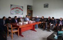 جلسه شورای آموزش و پرورش منطقه چهاردانگه، در اسفند 1396تشکیل شد