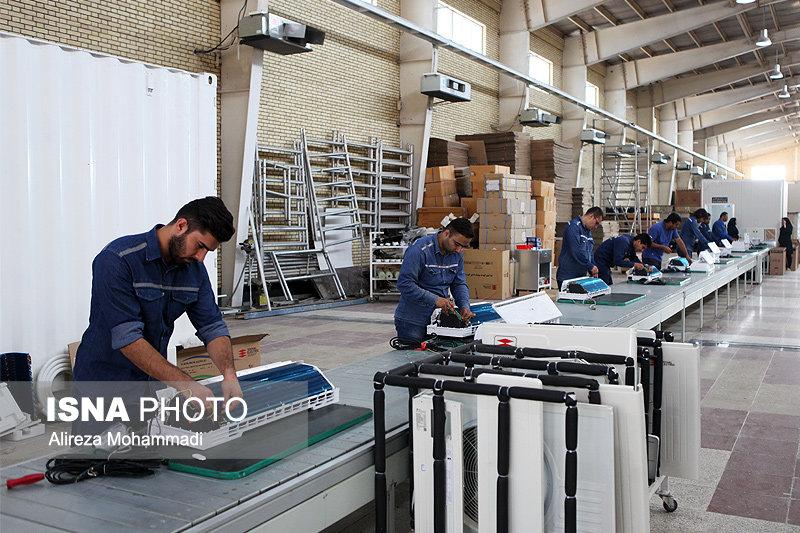 فعالیت 70 درصدی واحدهای تولیدی در مازندران