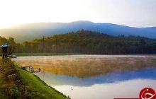 دریاچه رویایی الندان « پِله» مقصد هزاران گردشگر داخلی و خارجی