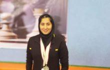 معصومه ذوالفقاری کیاسری، مقام دوم شطرنج  دانشجویی منطقه ۷ کشور دست یافت