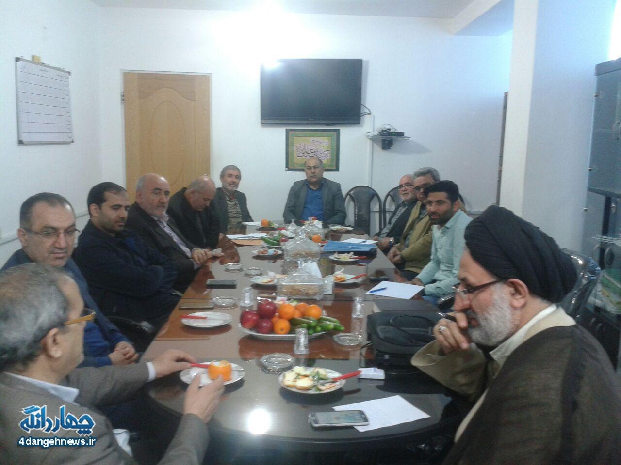 اولین جلسه ستاد اجرایی یادواره شهدای210 شهید بخش چهاردانگه