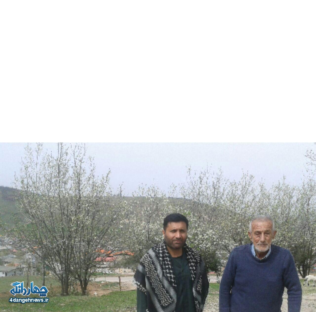 دیدار نوروزی فرمانده سپاه چهاردانگه با خانواده معظم شهدا