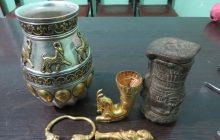 کشف اشیای عتیقه سه هزار ساله در بهشهر