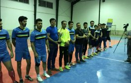 گزارش تصویری از اختتامیه اولین دوره مسابقات فوتسال جام نوروز چهاردانگه