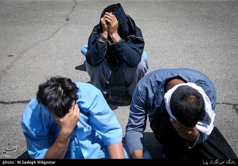 ساری|دستگیری باند سارقان داخل خودرو در استان مازندران