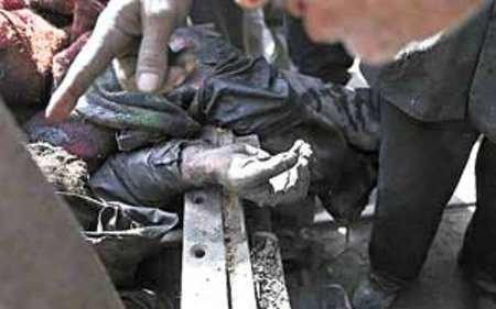 کشته و مصدوم شدن 4 تبعه افغانی در معدنی در نور