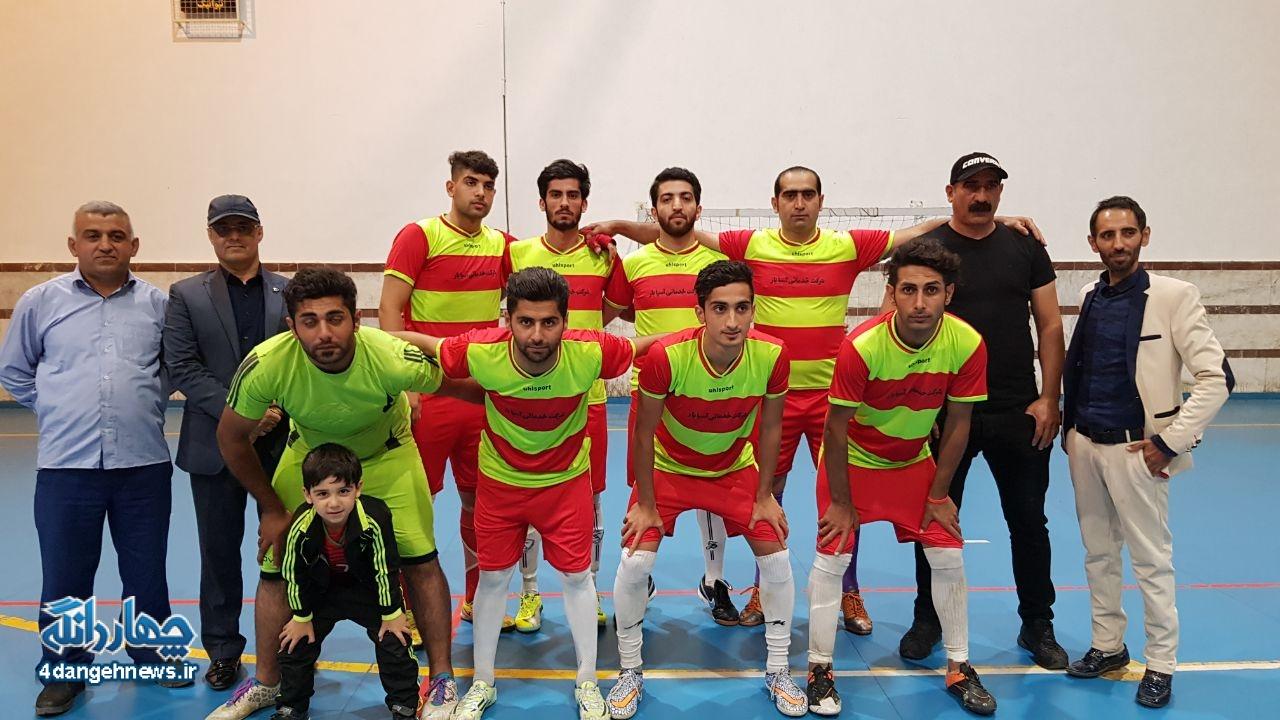 جام دوستی چهاردانگه با قهرمانی تیم ولاغوز به پایان رسید