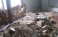 تخریب دو واحد مسکونی بر اثر سیلاب اخیر در روستای چالو + تصاویر