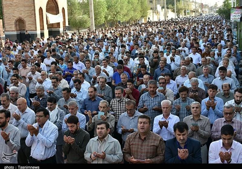نماز عید فطر در شهرهای استان مازندران برپا شد