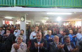 گزارش تصویری از برگزاری نماز عید فطر در شهر کیاسر