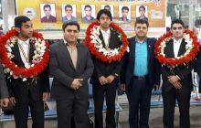 استقبال از محمد شریفی کیاسری نابغه ریاضی جهان در فرودگاه تهران