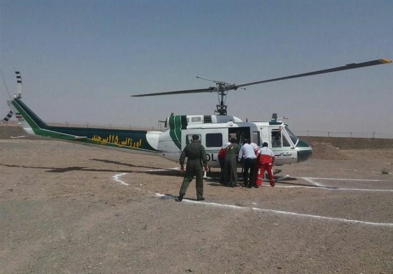 آمبولانس هوایی در کیاسر مستقر میشود