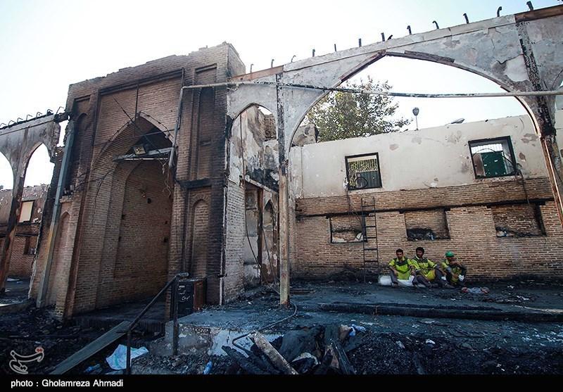 میراث فرهنگی بازسازی مسجد جامع ساری را سریعا آغاز کند