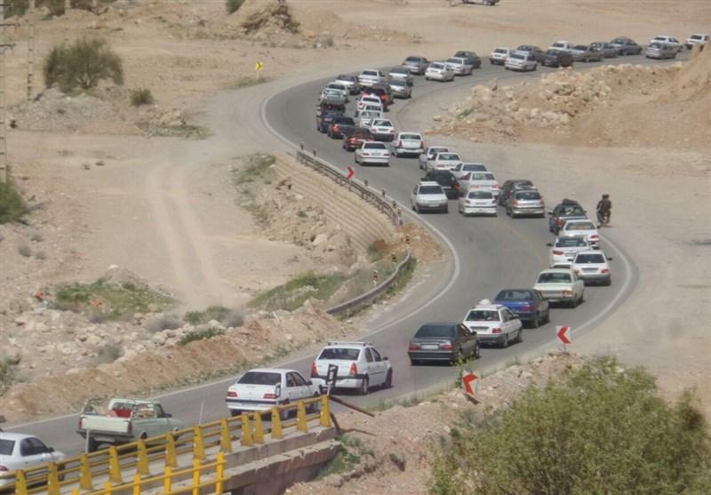 مازندران| محور کندوان شاهد ترافیک سنگین است