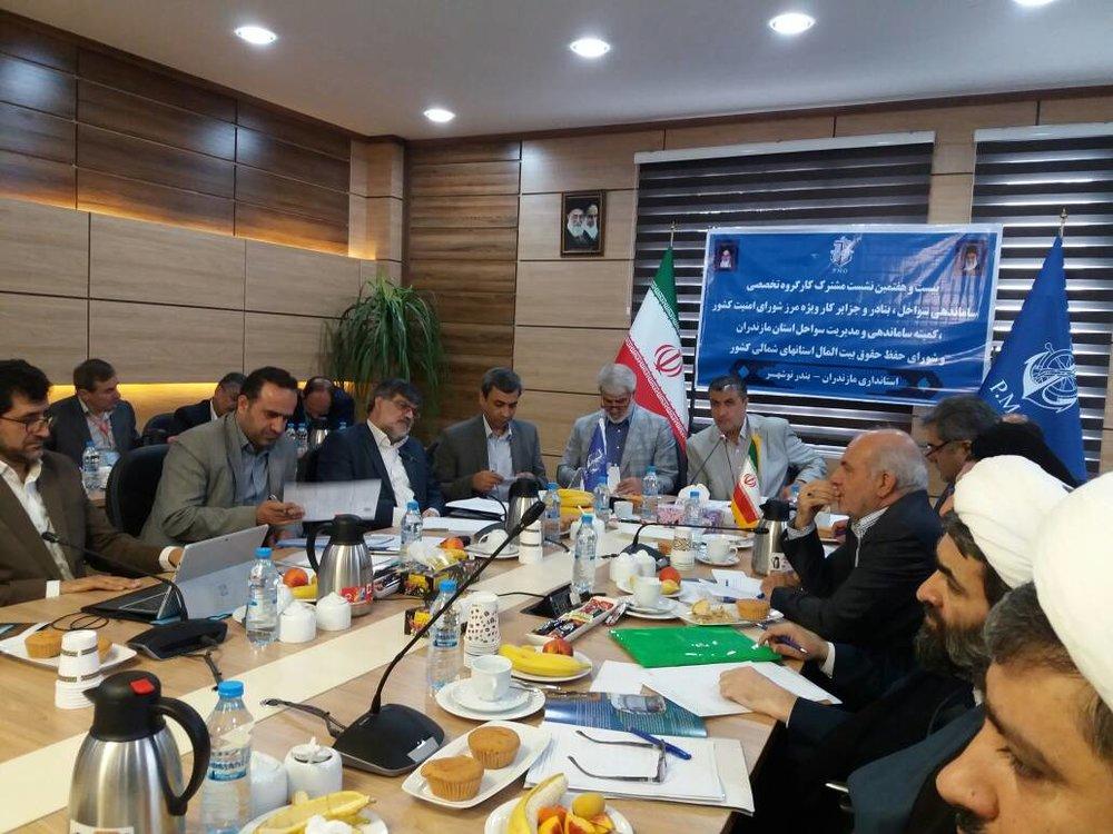 22 درصد از سواحل استان مازندران در اختیار بخش دولتی
