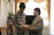 تقدیر شهردار ساری از محمد شریفی کیاسری دارنده مدال طلای المپیاد جهانی ریاضی+ تصاویر