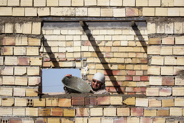 احداث ۵۰ مسکن محرومان توسط گروه جهادی شهید کاظمی در چهاردانگه