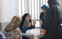 """ویزیت رایگان کاروان سلامت"""" همت عالی """" در روستای ماچک پشت ساری"""